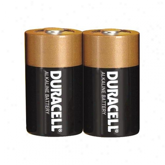 Duracell Size D Alkaline Battery (Bundle Of 2)