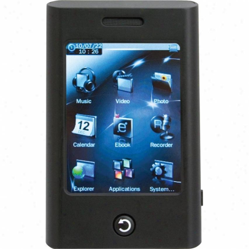 "Eclipse Mobile Elec Trio T2800 4gb 2.8"" Touch Screen Mp4 Player"