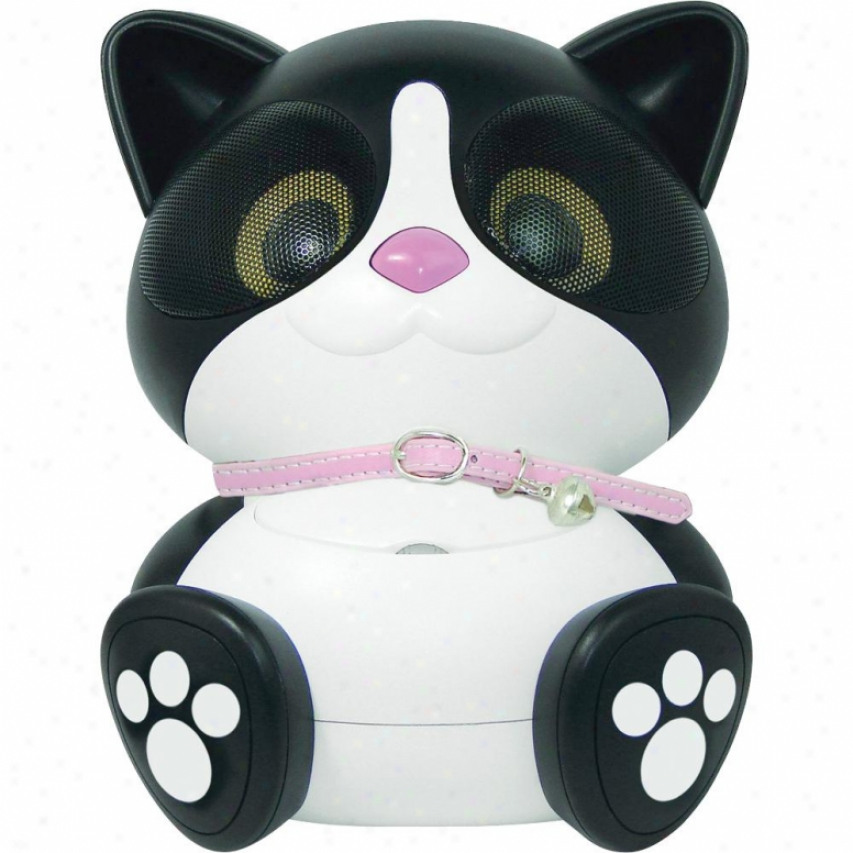 Electric Friends Ki Ki Cat Speaker Docking Station For Ipod And Iphone