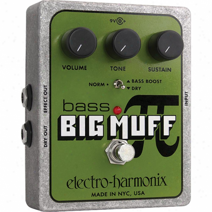 Electro-harmonix Low Big Muff Pi Distortion/sustainer Pedal