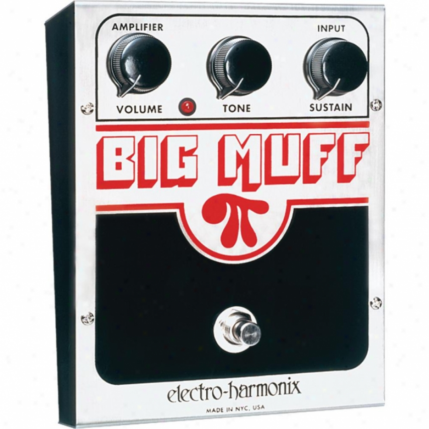 Electro-harmonix Bigmuffus Usa Big Muff Pi Distortion Sustainer Pedal