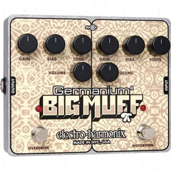 Electro-harmonix Germanium 4 Big Muff Pi Distortion/ Overrrive Processor