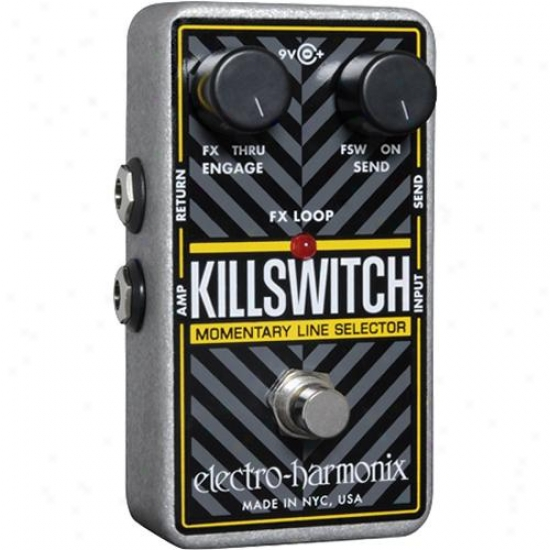 Electro-harmonix Killswitch Momentzry Line Selector Pedal