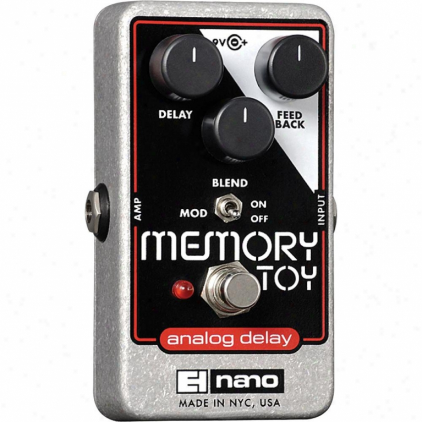 Electro-harmonix Memory Toy Analog Reverberate And Chorus Guitar Effects Pedal