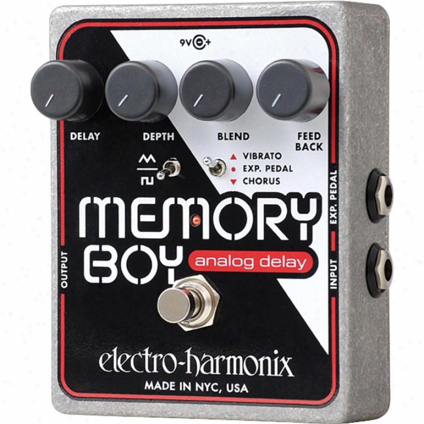 Electro-harmonix Memoryboy Memory Boy Analog Echo Chorus Vibrato Pedap