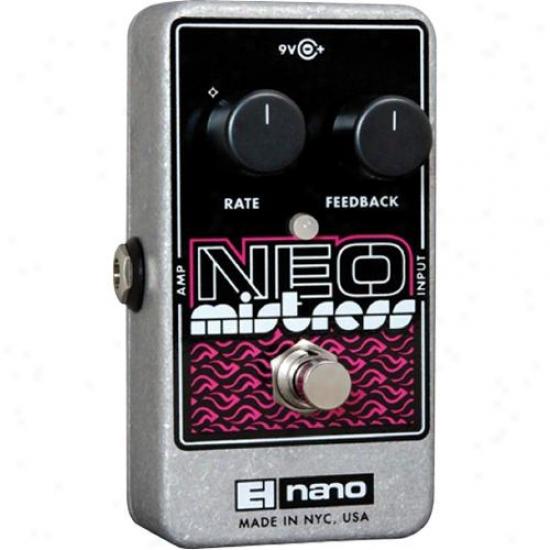 Electro-harmonix Neo Mistress - Flanger Guitar Pedal