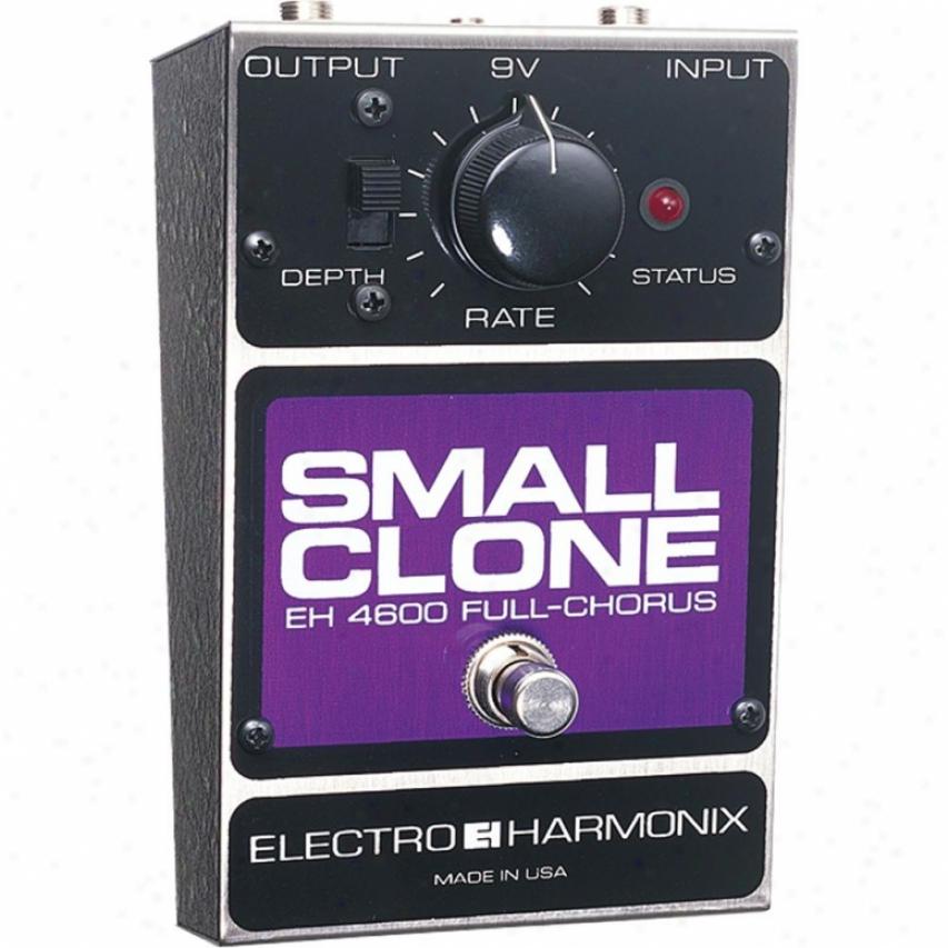 Electro-harmonix Smallcloone Small Clone Classic Analog Chorus Pedal
