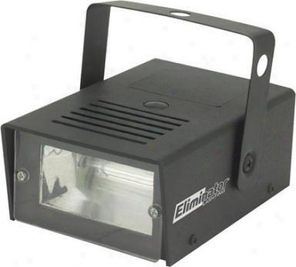 Eliminator Consolidate Mini Strobe Flashes A 25w Output, Adjustable Rate