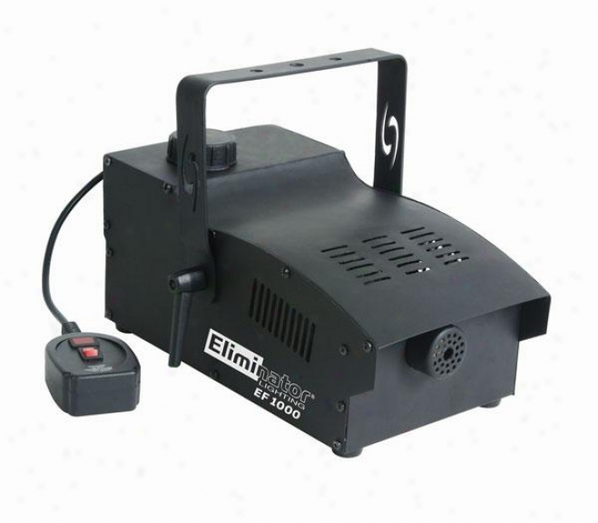 Eliminator Fog Machine W/powerful 1000 Watt Heater