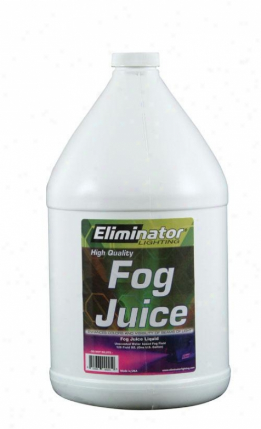 Eliminator One Gallon Of Fog Juice For Pro Fogging Machines
