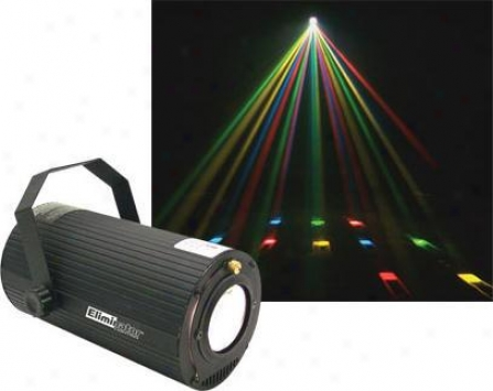Eliminator Rotating Multi-color Moonflower Effect - Sound Activated