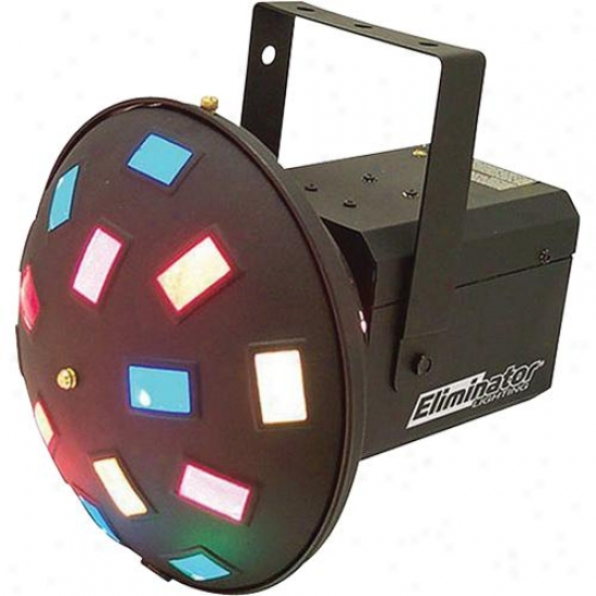 Eliminator Soundly Activated Effect Light W/40 Crisscrissing Color Beams