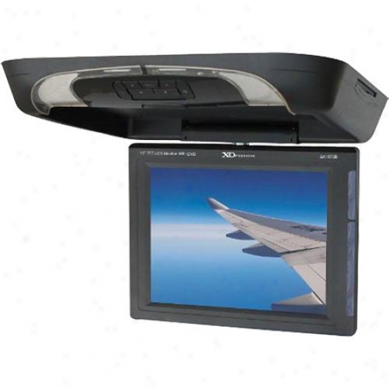 "Ematic 15"" Overhead Lcd Monitor Dvd"