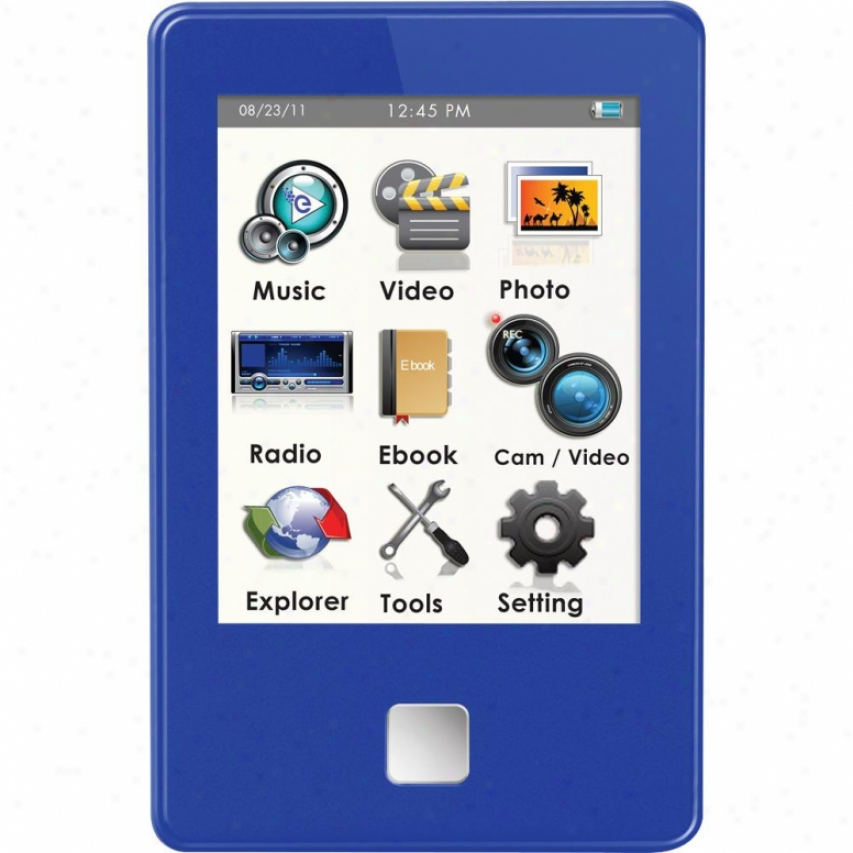 Ematic 4gb Video Player Blue