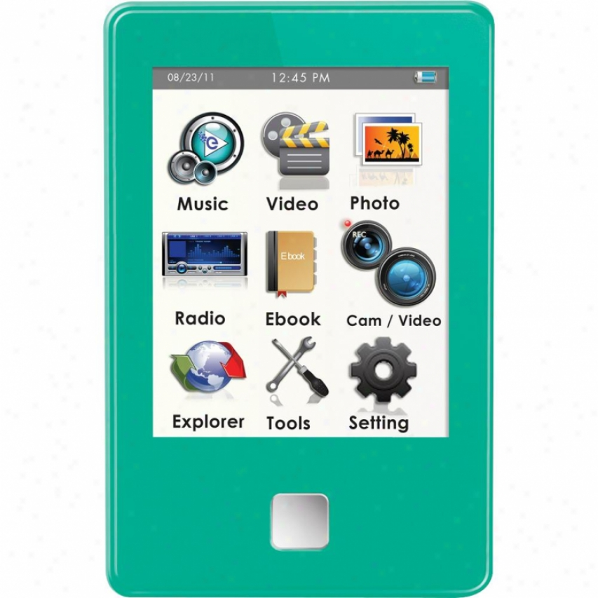 Ematic 4gb Video Player Green