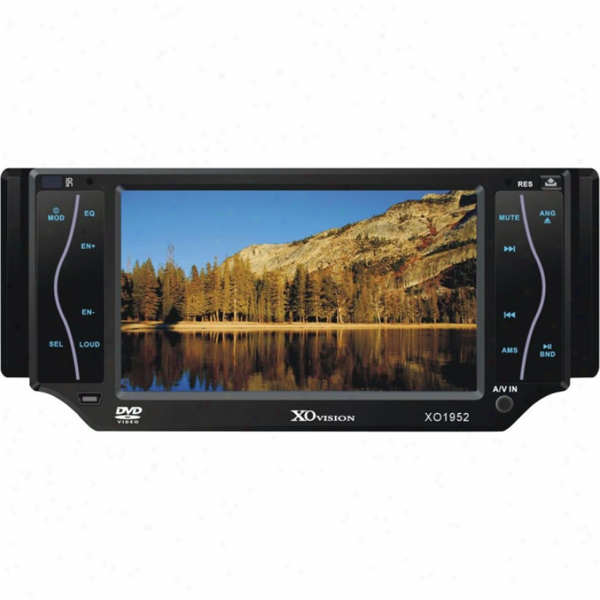 "Ematic 5"" Touch Screen Dvd Receiver"