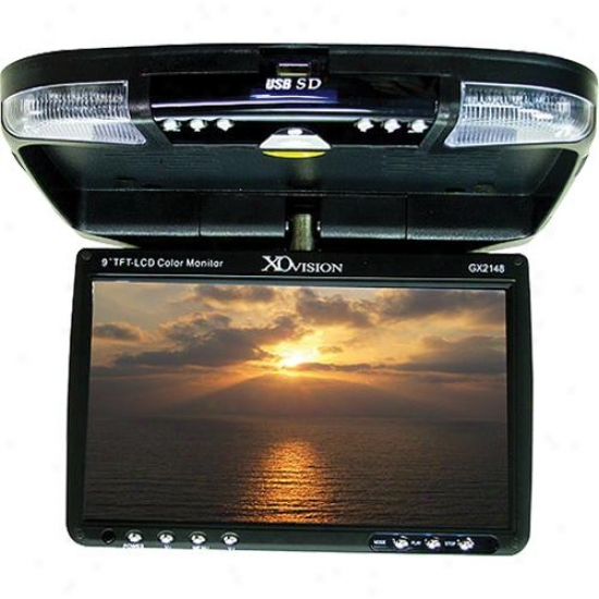 "Ematic 9"" Lcc Monitot With Dvd Player"