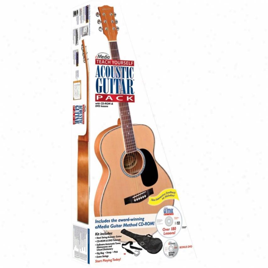 Emedia Teach Yourself Acoustic Guitar Pack - Ego7108