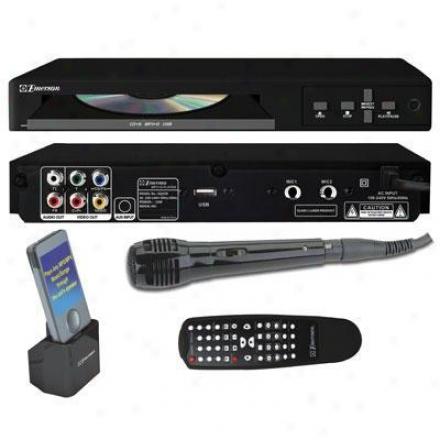 Emerson Karaoke Cdg/mp3g Karaoke Player