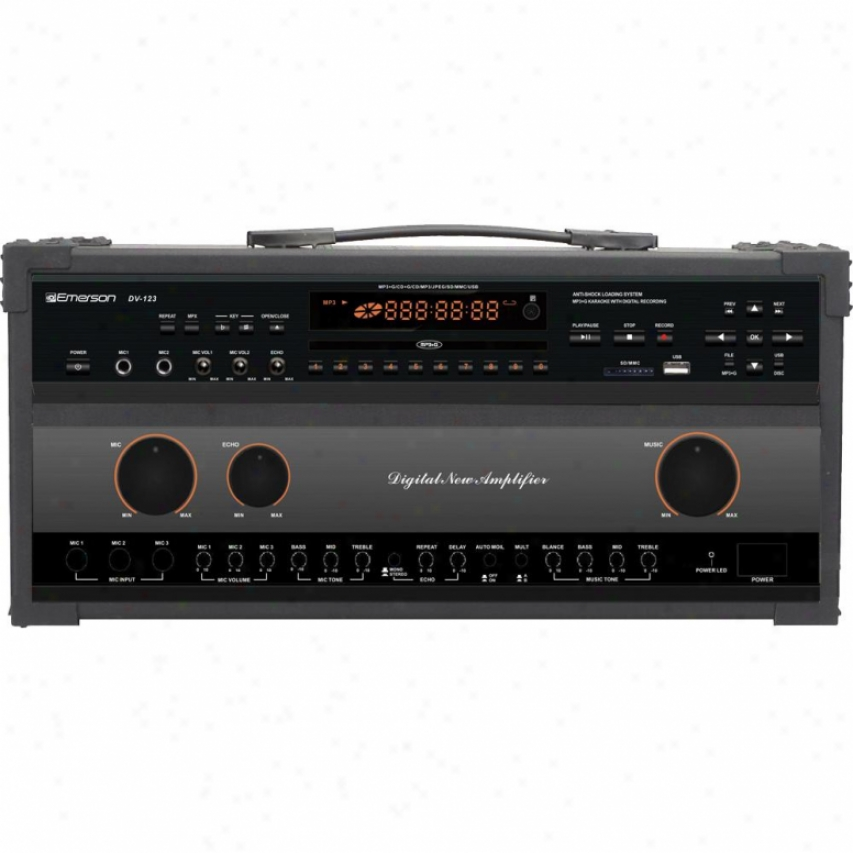 Emerson Karaoke Pro Cdg/mp3g Karaoke