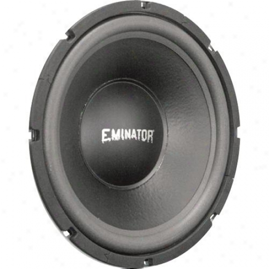 Eminator 10-in High-power Subwoofer, 4 Ohm Voice Coil