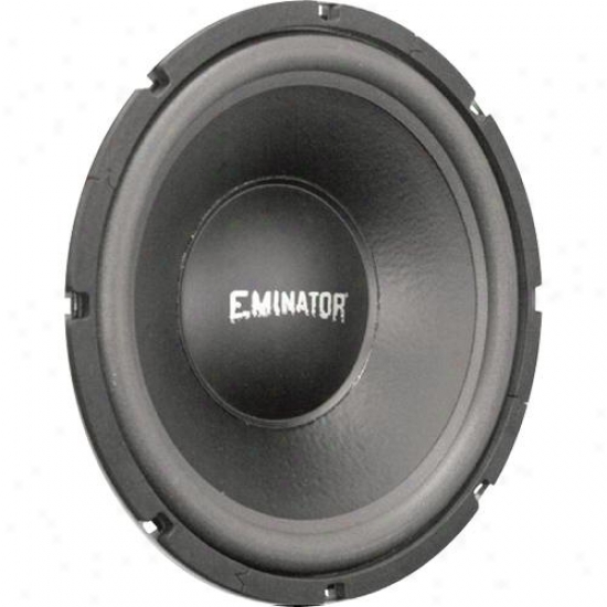 Eminator 10-in High Power Woofer, 4 Ohm Voice Coil