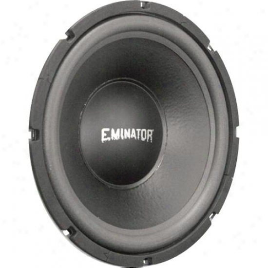 Eminator 12-in High-power Subwoofer, 4 Ohm Voice Coil