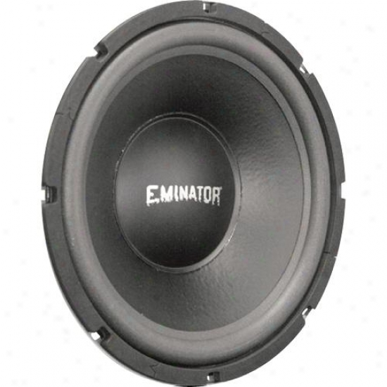 Eminator 15-in Car Wooefr W/2.5-in Voice Coil & 1200 Watt Peak Power