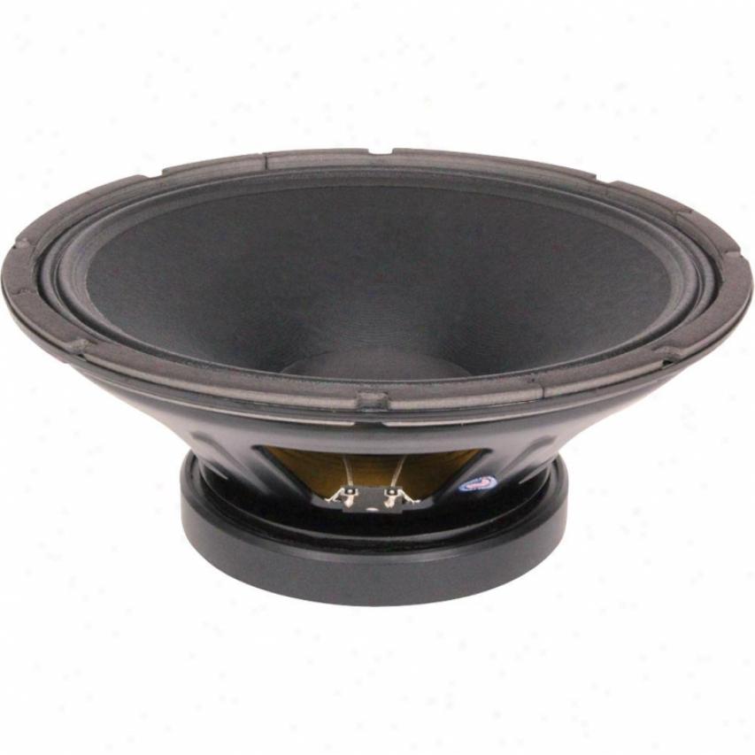 """Eminence 15"""" Pro Mid Low Spkr; 1000w Max; 8 Ohms W/aluminum Voice Coil"""