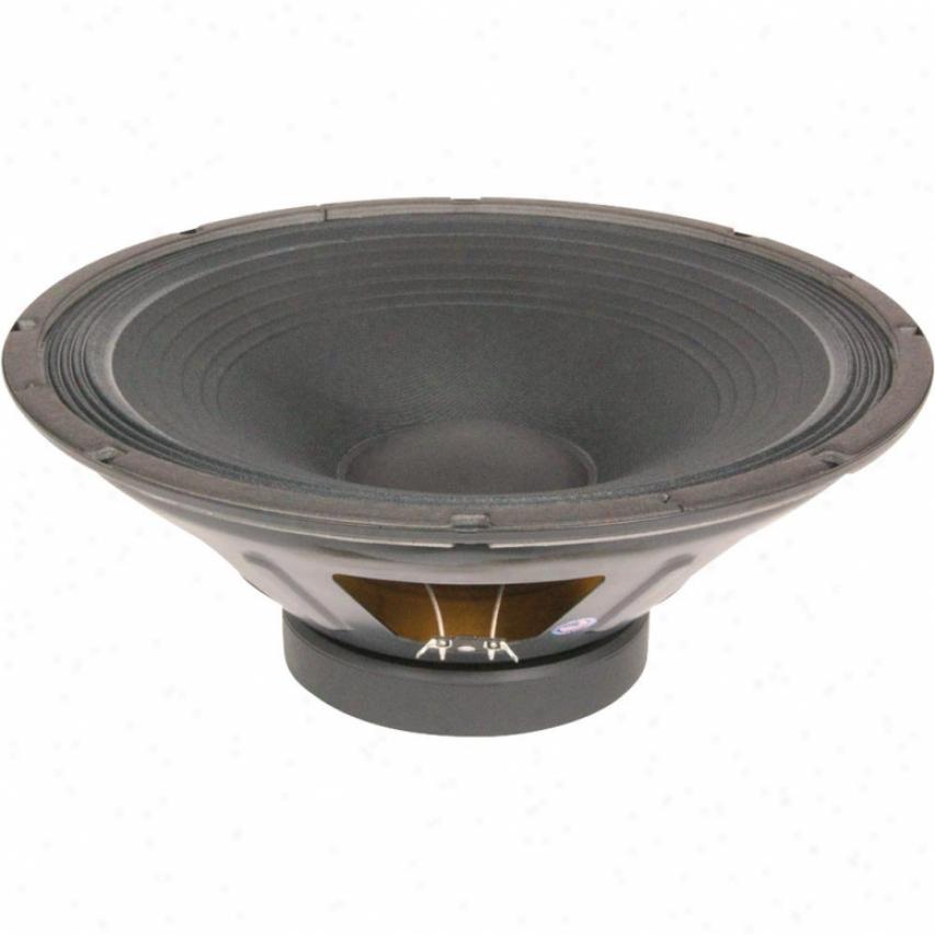 "Eminence 15"" Pro Mid Bass Spkr; 800w Max; 8 Ohms W/aluminum Voice Coil"