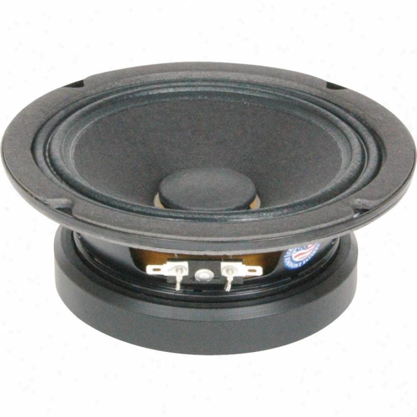 "Eminence 6"" Pro Mid Range Spkr; 200w Max; 8 Ohms W/copper Voice Coil"