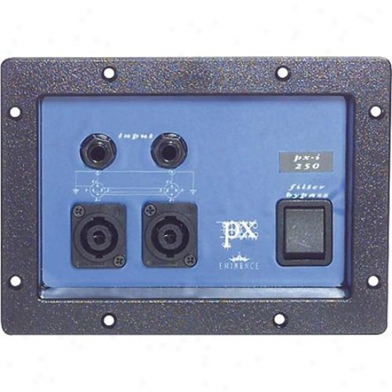 Eminence Px250 Two Way Low Pas s600 Watt Speaker Cabinet Crossover