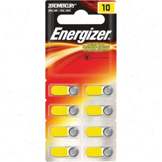 Energizer 10-size Hearing Aid Batteries - 8-pack