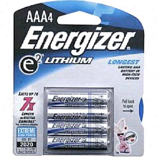 Energizer L92bp4 E2 Lithium Aaa Battery ( 4 Pack )
