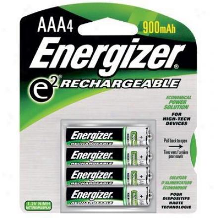 Energizer Rechargeable Aaa-4pk