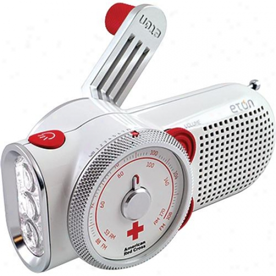 Eton American Red Cross Rover Weather Radio Flashlight Cell Phone Charger