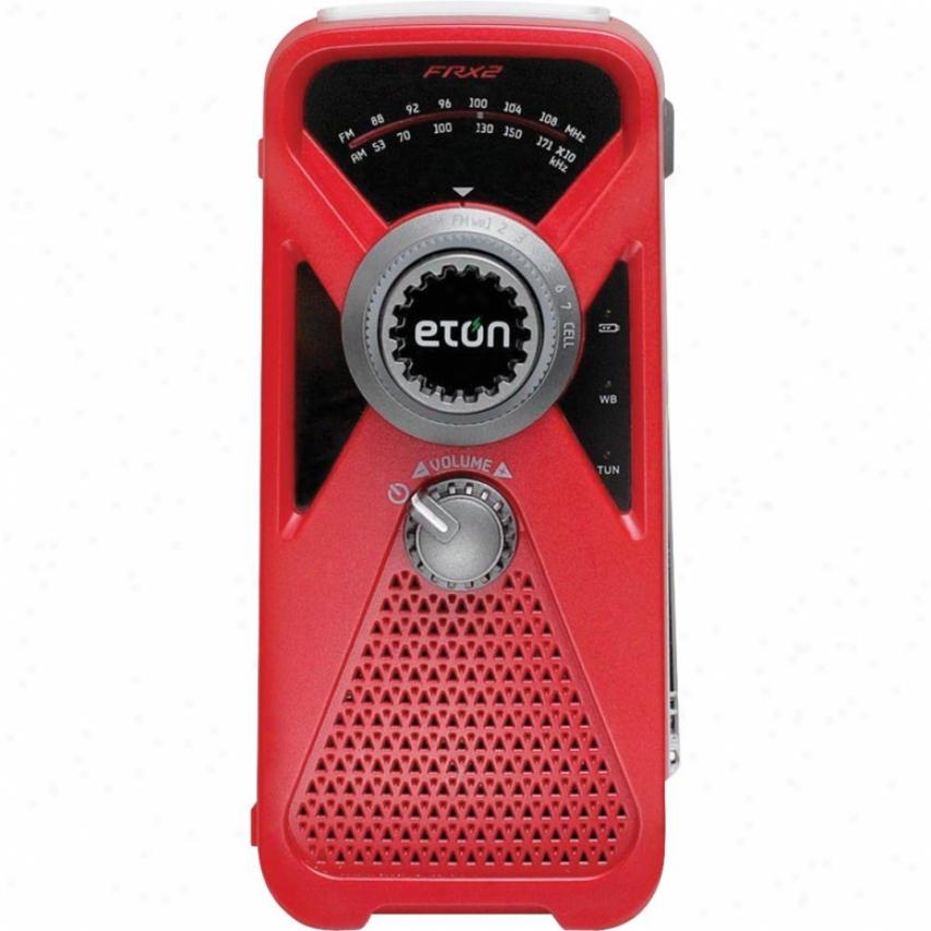Eton Frx2 Am Fm Weather Radio - Red