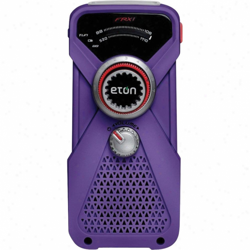 Eton Hand Turnbine Weather Radio
