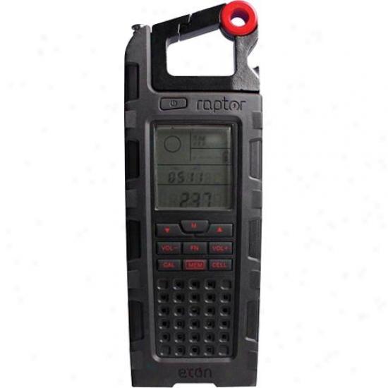 Eton Raptor Solar Charge Radio Black Sp200wxb