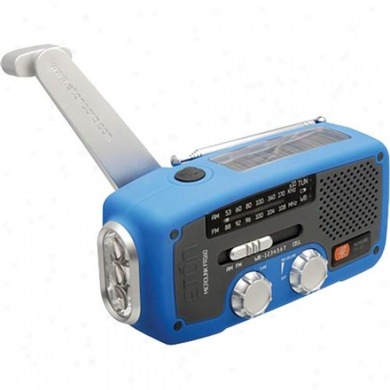 Eton Solar Dynamo Powered Radio Blu