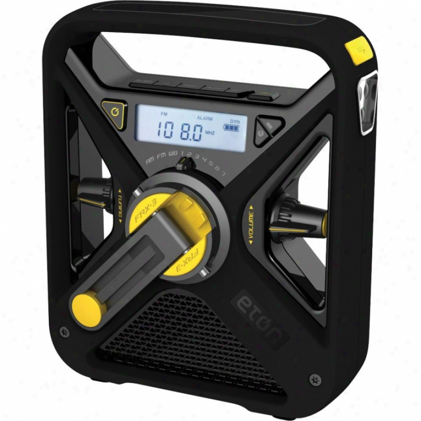 Eton Weather Alert Radio Black