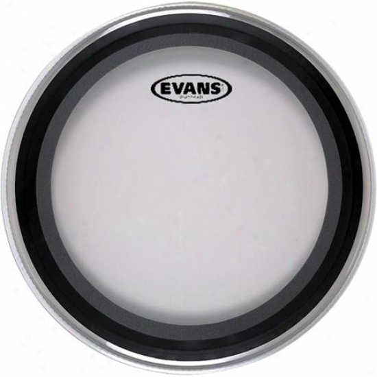 """Evans Drumhezds Bd24-emad2 24"""" Emad 2 Clear Batter Drum Head"""