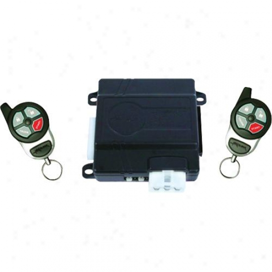 Excalibur Electronic Deluxe Keyless Entry & Remote Start System W/ Pair 4-button