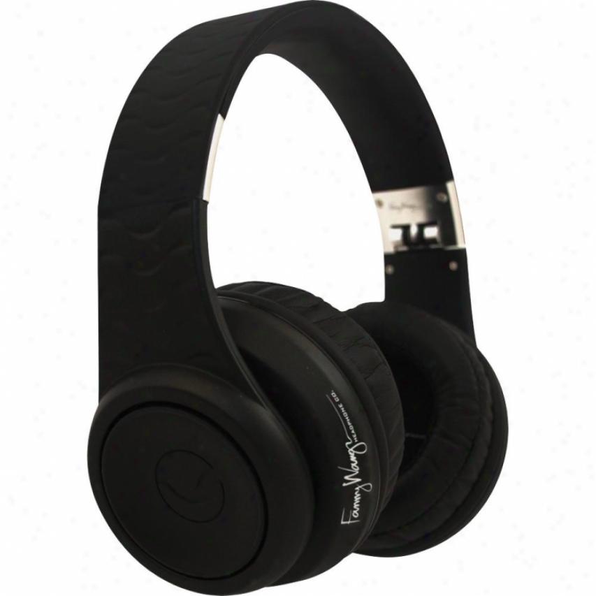 Fanny Wang Black Noise Cancel Headphones