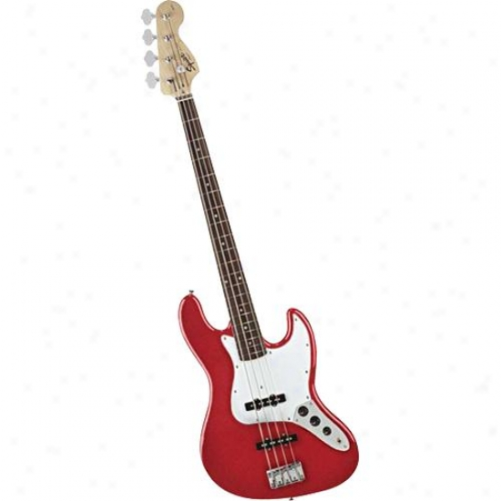 Fener Open Box Affinity J Bass Guitar Metallic Red