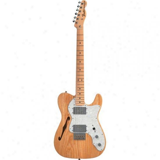 Fender® 013-7402-321 ?72 Telecaster® Thinline Electric Guitar