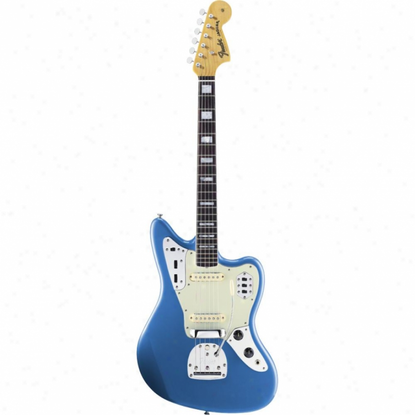 Fender® 017-0084-802 50th Anniversary Jaguar Electric Guitar - Blue