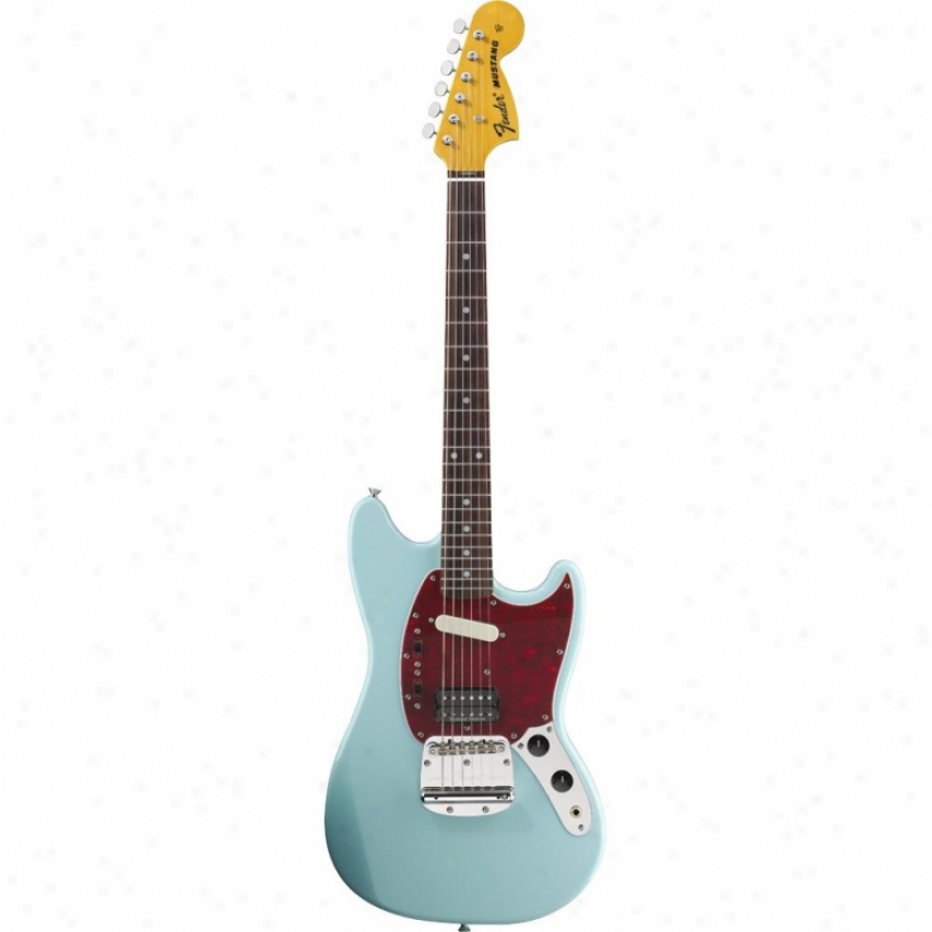 Fender® 025-1400-572 Kurt Cobain Mustang® Electric Guitar - Sonic Blue