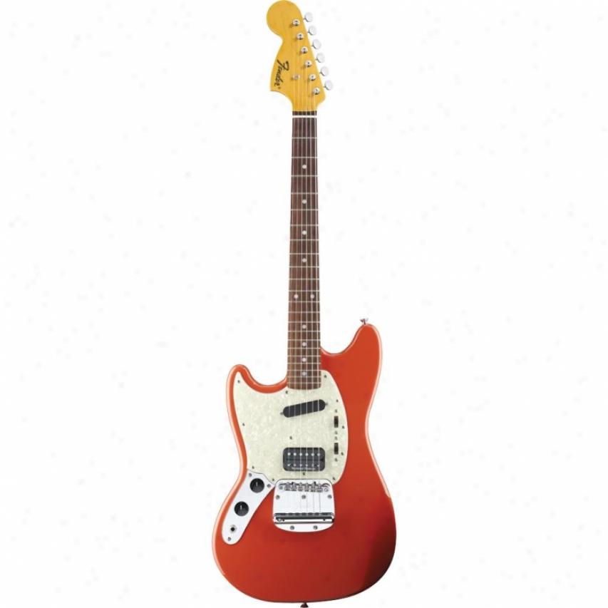 Fender® 025-1420-540 Kurt Cobain Mustang® Electric Guitar - Fiesta Red