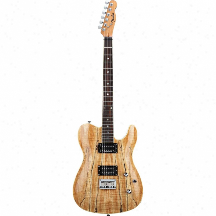 Fender® 026-2600-521 Custom Telecaster® Spalted Maple Hh Electric Guitar
